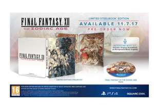 Final Fantasy XII The Zodiac Age Steelbook Edition + T-Shirt (Large) £19.85 @ ShopTo