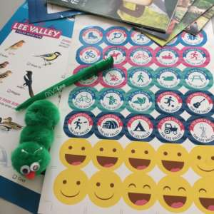Free kids activity pack from Visit Lee Valley