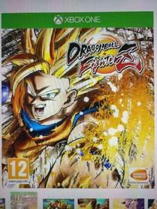 Dragon Ball FighterZ £39 with code @ Tesco