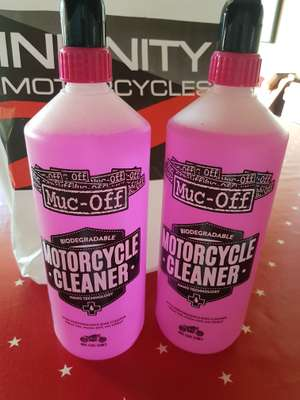 Muc-Off Motorcycle cleaner BOGOF £10 Infinity Motorcycles York
