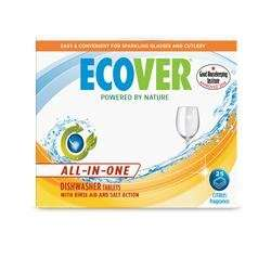 Ecover All In One Dishwasher 25 Tablets £4 @ Amazon - Add on item