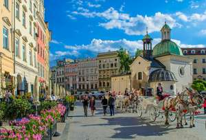 From London: 2 Night Break to Krakow £52.66pp @ Ibis