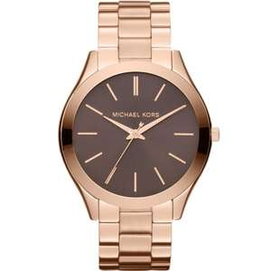 Michael Kors Ladies Runway Watch MK3181 + Gift Box now £72 Del with code @ JB Watches