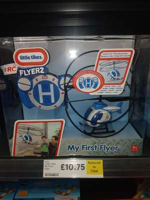Little Tikes My First Flyer Helicopter £10.75 @ Tesco