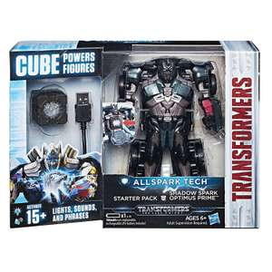 Transformers: The Last Knight Allspark Tech Starter Pack - Shadow Spark Optimus Prime  £11.66 @ TescoDirect