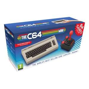 Mini Commodore 64 Pre-Order Console including 64 pre installed games £64.99 @ Smyths