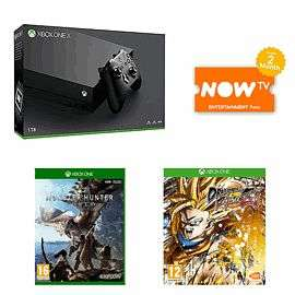 Xbox One X with Monster Hunter World & DragonBall Fighter:Z £469.99 At Game Online