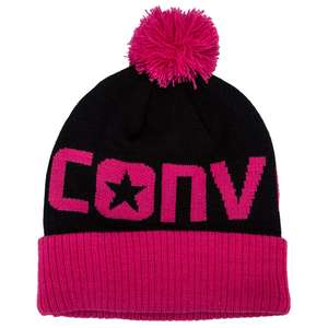 Converse girls beanie bobble hat - one size £3.71 @ get the label.com + free delivery