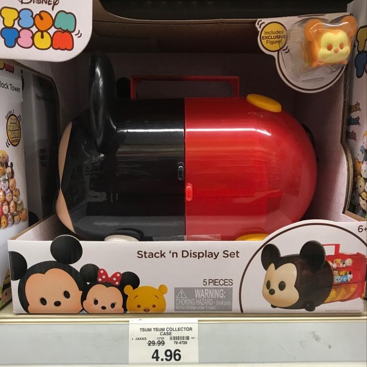 Disney Tsum Tsum Collector Case £4.96 @ Toys r us