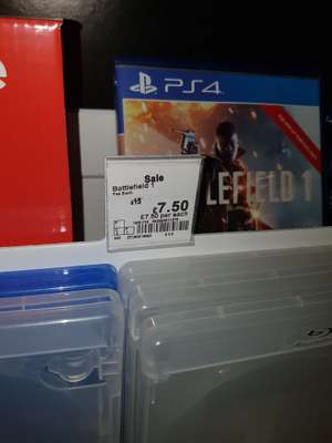 BATTLEFIELD 1 FOR PS4 £7.50 AT ASDA - bradford
