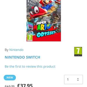 Super Mario Odyssey at The Game Collection for £37.95