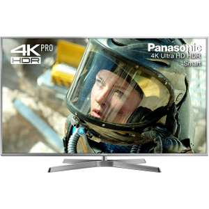"Panasonic TX-50EX750B 50"" Freeview HD and Freesat HD and Freeview Play Smart 3D 4K Ultra HD with HDR Pro TV £799 Delivered with code @ AO.com"