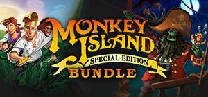 [Steam] Monkey Island: Special Edition Bundle - £2.75 @ Dreamgame - 'Overwhelmingly Positive' & 'Very Positive' rating