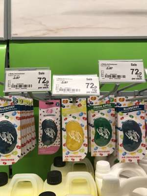Jelly Belly Car Air Freshener - 72p @ ASDA in store - Pilsworth