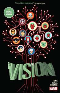 The Vision comic book collected digital 488 pages £2.16 @ Amazon