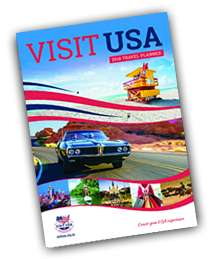 FREE 72 Page Visit USA Travel Planner & Map