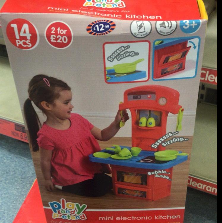 Mini Electric Kitchen play set £2.99 @ B&M Sheffield haymarket