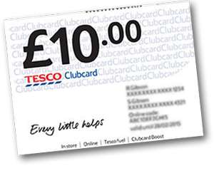 1000 FREE Clubcard Points for 60 seconds work!