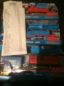 Thomas trackmaster trains £3.25 in store (white label) Tesco Lincoln