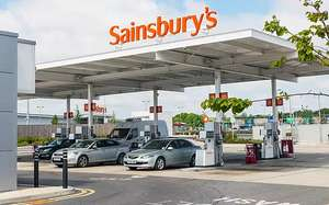 Sainsburys holtspur petrol station. All own brand products 50% off
