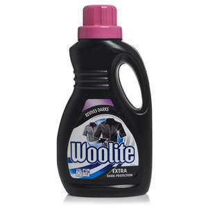 Poundland: Woolite/Woolite Dark 750 ml £2.00 (£3.50 elsewhere)