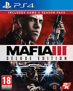 Mafia 3 Deluxe - PS4/Xbox One @ GAME - £14.99