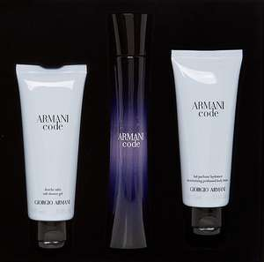 Giorgio Armani - Armani Code Pour Femme Gift Set (3 x 75ml) at TK Maxx for £59.99   Free C&C