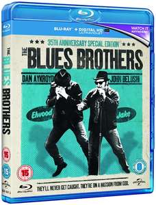 The Blues Brothers (with UltraViolet Copy) [Blu-ray] £4.50 delivered @ Zoom
