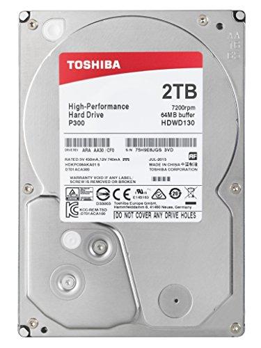 "Toshiba P300 2TB 7200RPM 3.5"" SATA £51.97 @ Amazon, lowest ever price."