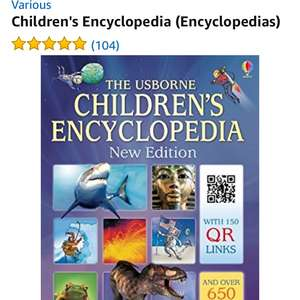 Usborne children's encyclopedia hardcover £5 Prime @ Amazon