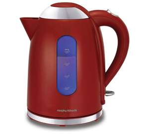 Up to half price electrical sale ,eg Morphy Richards accent dome kettle red was £49.99 now £24.99 @ Argos ,free c+c