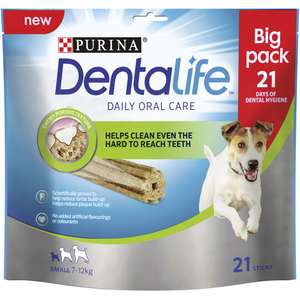 Dentalife Dog Chew Small 21pk @ wilkos for £2.50