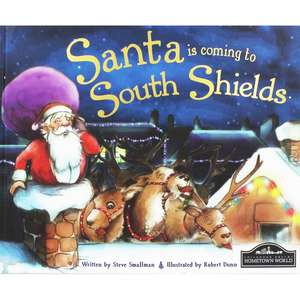 Santa is coming ...... To South Shields/ Scunthorpe/ Blackburn. Poor old Santa. Was £7.99 now £1 at The Works