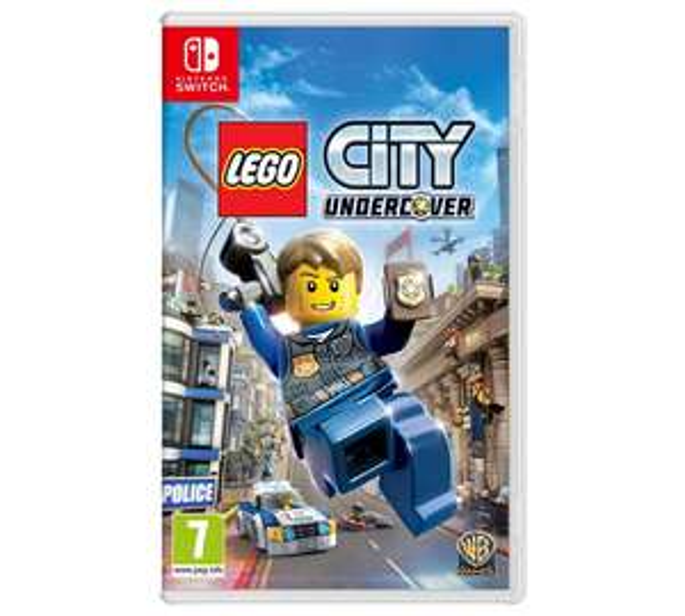 LEGO City Undercover Nintendo Switch £19.99 @ Argos