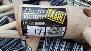 B&Q clearance Harris Victory brooms and handles from 10p - found instore (Bournemouth). From 50p on-line