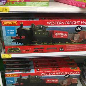 Hornby Western Freight Hauler - £30 in store @ ASDA Roehampton, £120 on their website