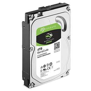 "Seagate 4TB BarraCuda 3.5"" 5400 RPM Internal Hard Drive, £85.98 from Amazon"