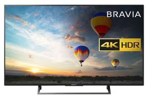 Sony Bravia KD49XE8004 49 inch TV (4K HDR Ultra HD, Android TV, X-Reality PRO, Triluminos Display (2017 Model) - Amazon Prime Exclusive - £429