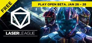 Laser League Open Beta now live (+ Release Bonus Pack for playing) @ Steam
