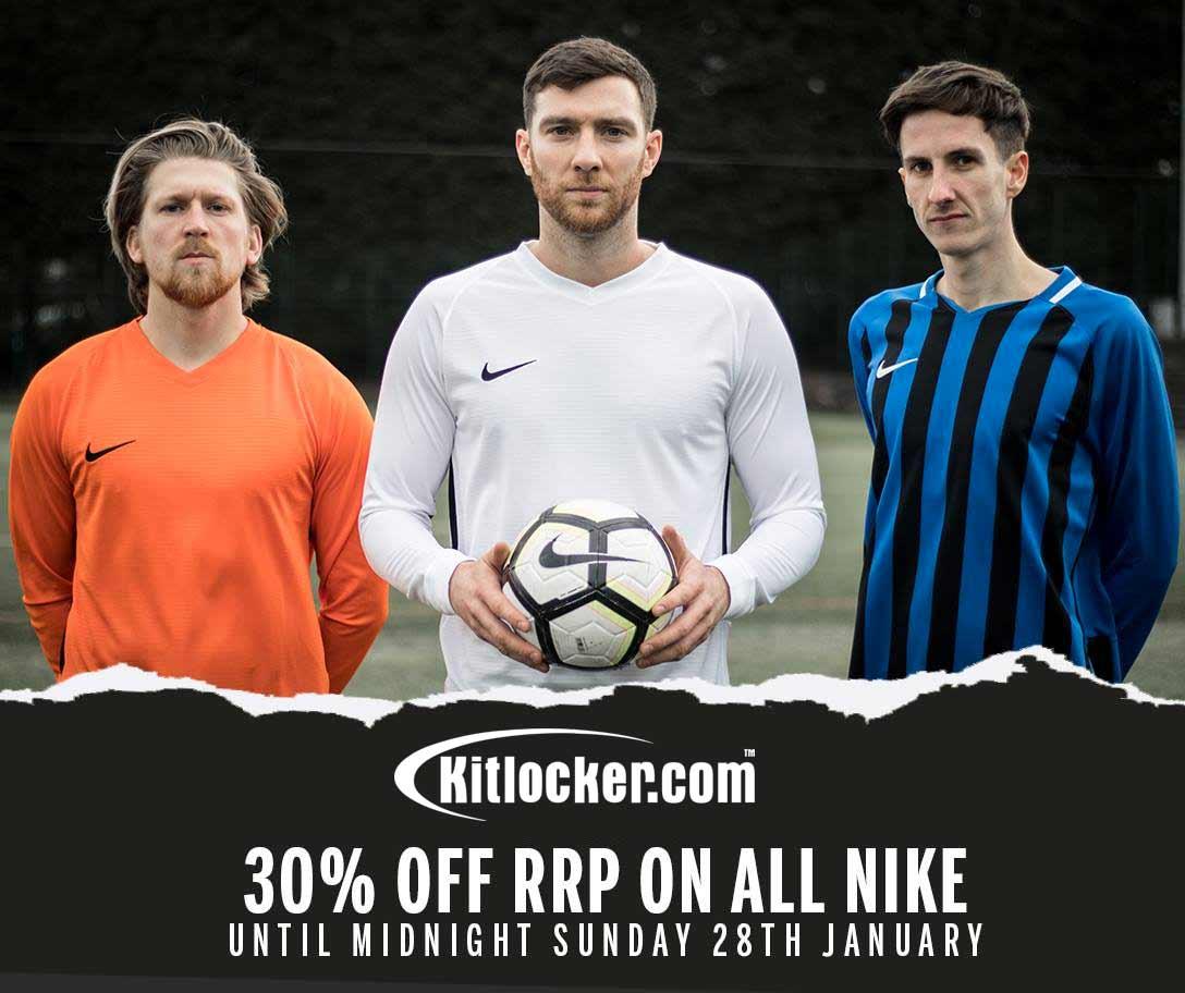 30% off ALL Nike products @ Kitlocker until midnight 28/01 - January Sale!