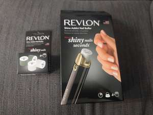 Revlon Shine Addict Nail Buffer & Replacement Heads in Home Bargains - £3.99 instore @ Home Bargains