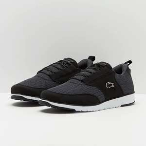 Lacoste Black/Grey trainer over 50% OFF £33.95 delivered @prodirectselect.com