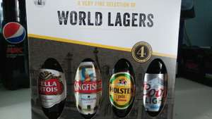 World lager 4 pack bottles - £1.25 instore @ Tesco (Maldon)