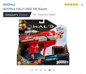 Halo Boom co Blaster only £8.99 Free delivery - Sold and Despatched by Real Merch via Amazon