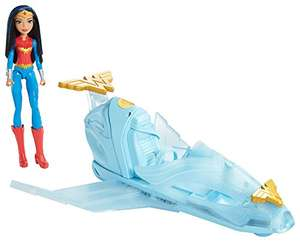 DC Comics DYN05 Super Hero Girls Wonder Woman Doll and Invisible Jet £9 (Exclusively For Prime Members) @ Amazon