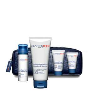 Clarins - 'ClarinsMen Hydration' gift set @Debenhams for £26.66 (free C+C)