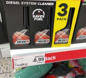 Redex diesel Cleaner / petrol cleaner also availabe - £8.99 instore @ ASDA