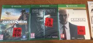 Xbox One/PS4 games reduced from £2.50 up @ Asda (Bootle, Liverpool)