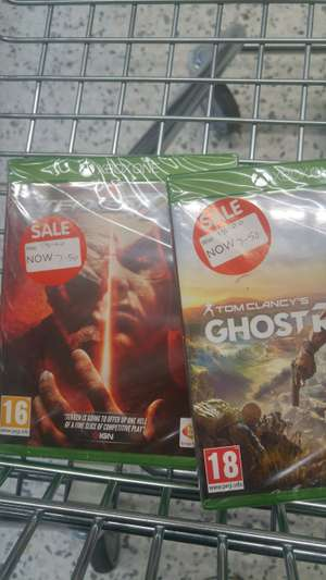 Sale on games instore @ ASDA - from £5