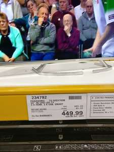 "Panasonic 50"" 4K TV  - TX-50EX700B - 5 year warranty £540 instore at Costco"